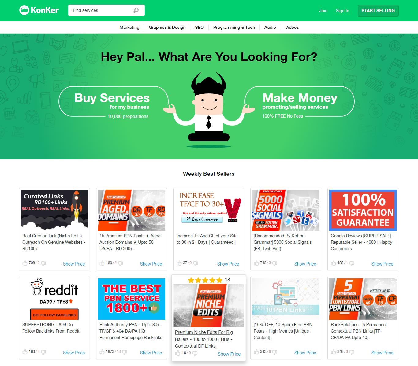 Konker-website-homepage-top