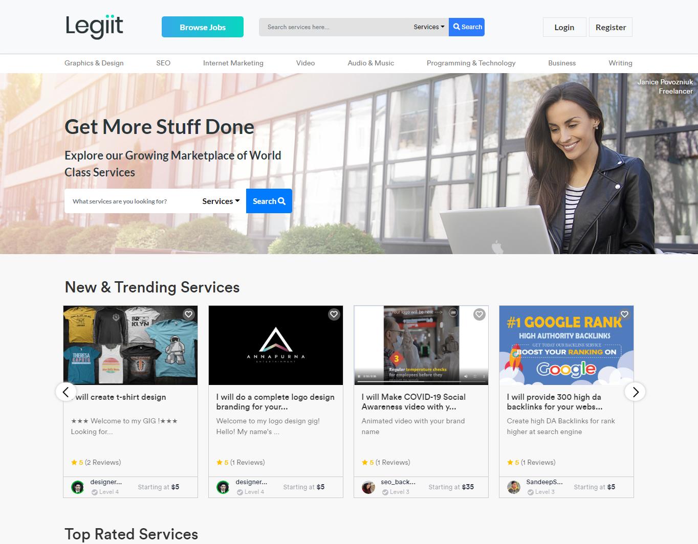 Legiit-website-homepage-top
