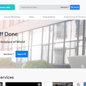 Legiit Homepage Screenshot