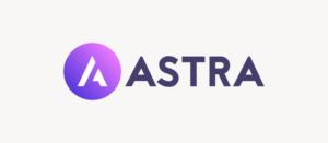 Astra White Banner