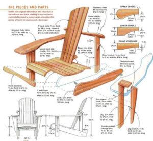 Woodworking Plan Deckchair