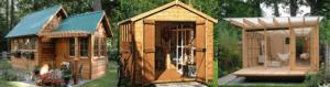 beautiful outdoor sheds