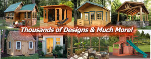 Shed Plans 1,000's of Designs Image